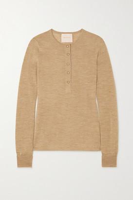 Roksanda Rishi Merino Wool Sweater - Gold