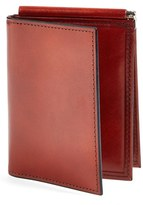 Bosca Men's 'Old Leather' Money Clip Wallet - Brown