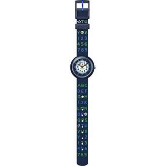 Flik Flak Boys Analogue Quartz Watch with Textile Strap FBNP132
