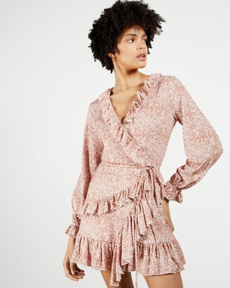 Ted Baker Printed Wrap Dress