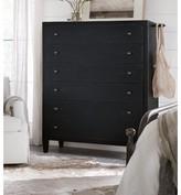 Hooker Furniture CiaoBella 6 Drawer Chest Color: Black