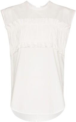 Lee Mathews Elsie ruffled blouse