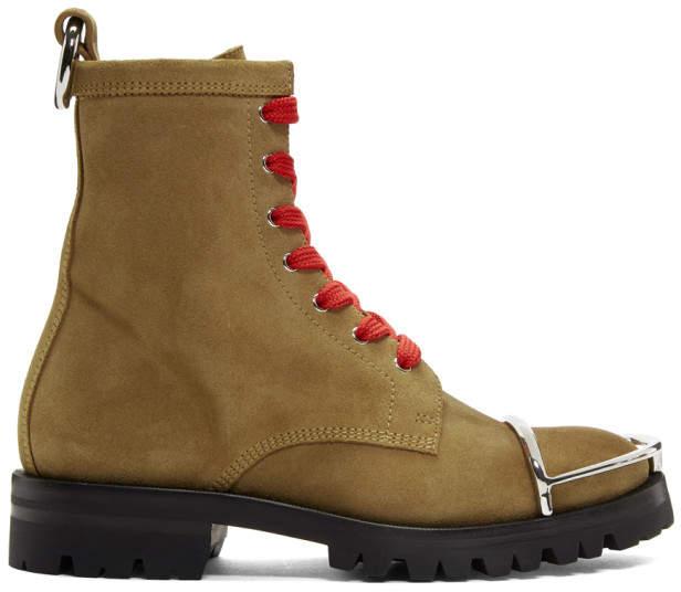 Alexander Wang Brown Lyndon Boots