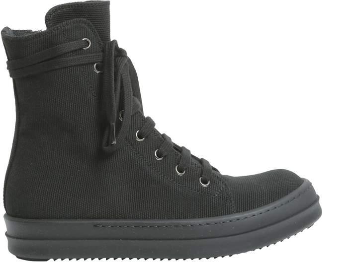 Drkshdw Cotton Canvas Sneakers