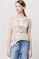 Anthropologie Marbled Knit Pullover