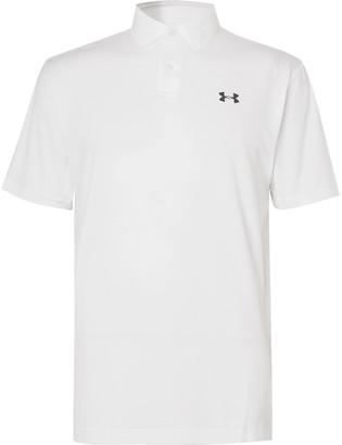Under Armour Performance 2.0 Stretch-Pique Golf Polo Shirt