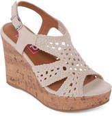 POP Mai Womens Wedge Sandals