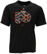 Majestic Men's Philadelphia Flyers Solid Win Synthetic T-Shirt
