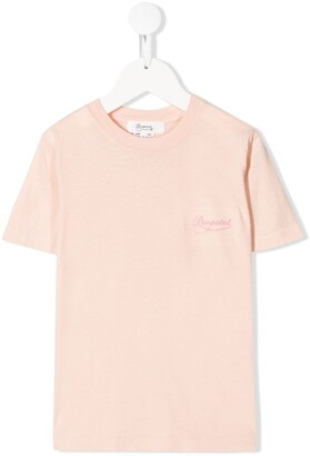 Bonpoint embroidered logo T-shirt