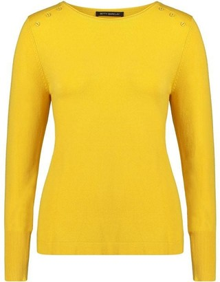 Betty Barclay Button Trim Knit Top