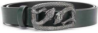 Just Cavalli Snake Buckle Belt
