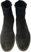 Fratelli Rossetti Black Suede Boots