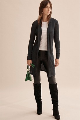 Country Road Longline Babywool Cardigan