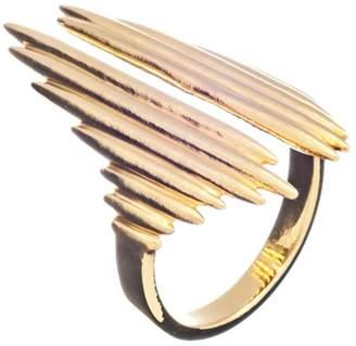 Rachel Jackson London Electric Goddess Statement Ring Gold