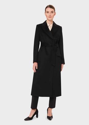 Hobbs Olivia Wool Wrap Coat