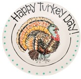 Glory Haus Happy Turkey Day Plate