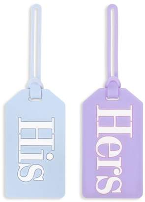 Kate Spade His And Hers 2-Piece Luggage Tag Set
