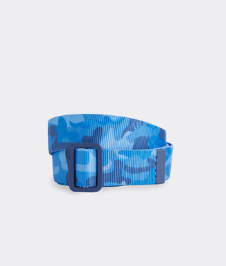 Vineyard Vines Camo On-The-Go Performance D-Ring Belt