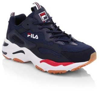 Fila Boy's Ray Tracer Patchwork Sneakers