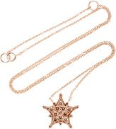Nam Cho 18K Rose Gold Diamond Necklace