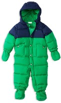 Ralph Lauren Infant Boys' Matte Finish Colorblock Down Bunting - Sizes 3-24 Months