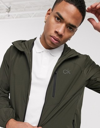 Calvin Klein Golf 24/7 ultralite jacket in khaki