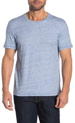 Public Opinion Short Sleeve Space Dye V-Neck T-Shirt