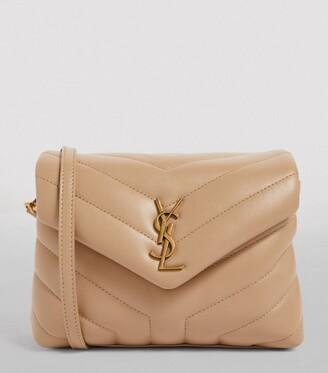 Saint Laurent Small Leather Matelasse Loulou Toy Bag