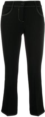 Alberto Biani Cropped Slim-Fit Trousers
