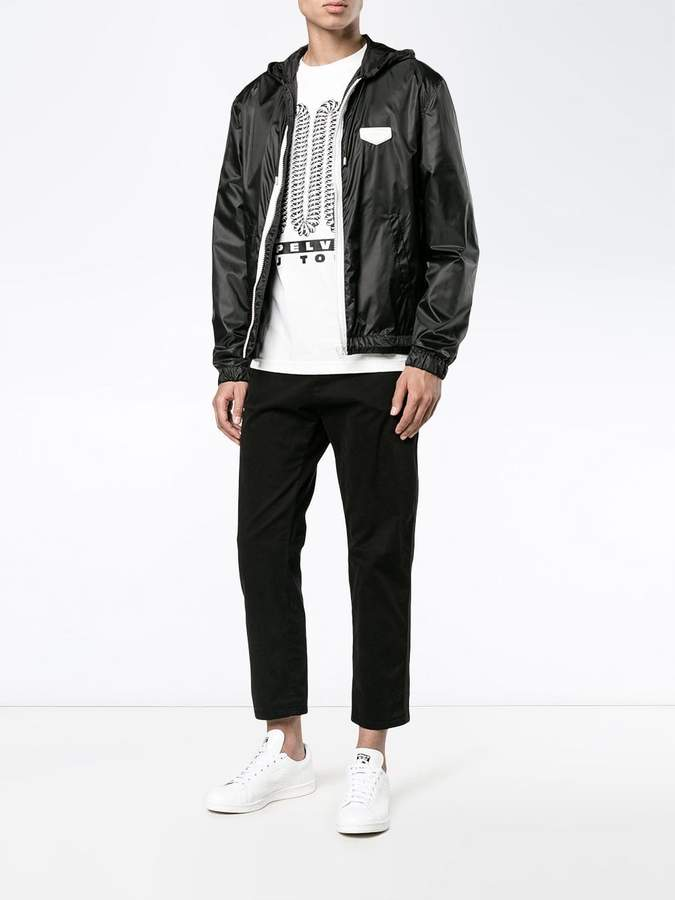 Givenchy hooded lightweight jacket