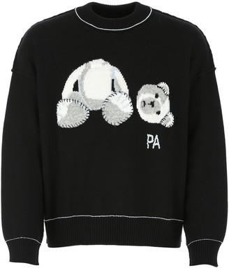 Palm Angels Bear Intarsia Sweater