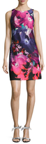 Vince Camuto Floral Print Above The Knee Dress