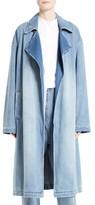Robert Rodriguez Women's Denim Trench Coat