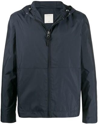 Sandro Paris zipped hooded jacket