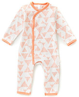 Petit Lem Baby Girls Newborn-6 Months Triangle Coverall