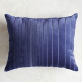 Pier 1 Imports Velvet Striped Navy Lumbar Pillow