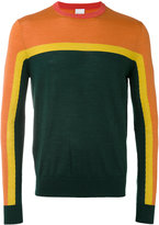 Paul Smith colour block sweater - men - Silk/Merino - S