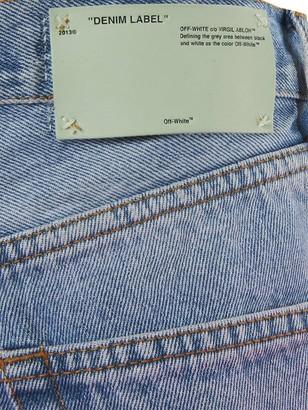 Off-White Degrade Denim Shorts