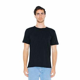 American Apparel Men's Unisex-Adult Fine Jersey Crewneck Short Sleeve T-Shirt 2-Pack