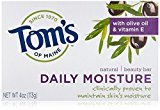 Tom's of Maine Moisturizing Bar Daily, 4-Ounce Bar, Pack of 6