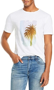 HUGO BOSS Palm Tree Graphic Tee