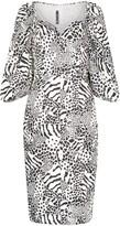 Rotate Irina sweetheart neck dress