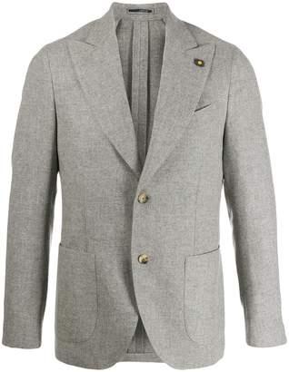 Lardini single breasted blazer