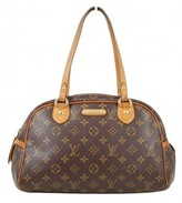 very good (VG) Louis Vuitton Monogram Canvas Montorgueil PM Tote Bag
