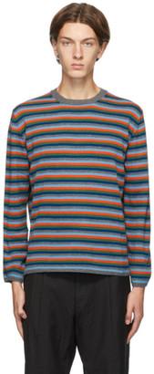 Comme des Garçons Homme Deux Multicolor Striped Sweater