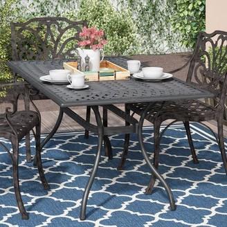 Agawam Metal Dining Table Fleur De Lis Living