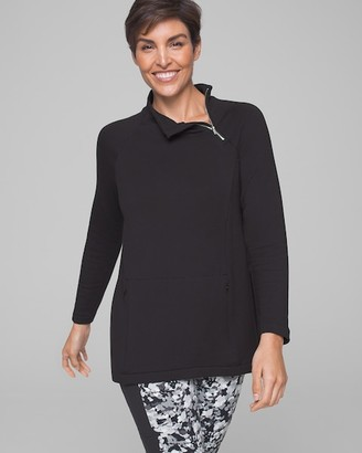 Soma Intimates Fine Fleece Pullover Black