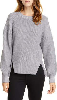 Joie Cicilia Metallic Raglan Sweater