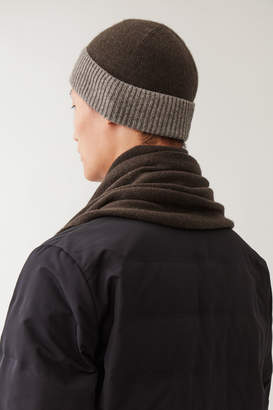 Cos Wool-Yak Hat With Contrast Brim