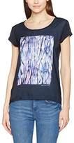 Freeman T. Porter Women's Shelli Water Lines T-Shirt,XS